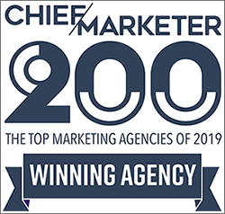 Chief Marketer Top Marketing Agency Winner 2019