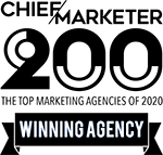 2020 Chief Marketer Top Winning Agency